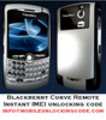Blackberry Curve IMEI Unlock Code Remote Subsidy Code