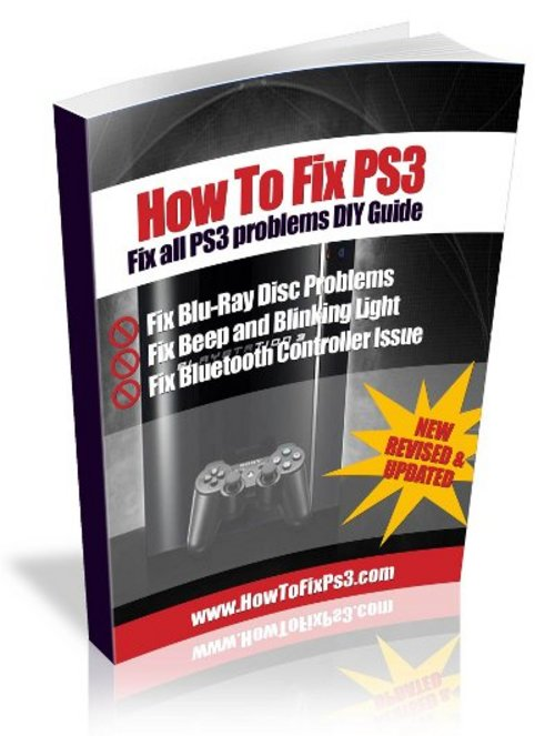 Product picture Blinking PS3 repair guide, diy common PS3 problems