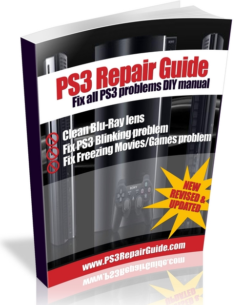 Product picture Dirt on Blueray lense PS3 repair guide DIT common problems
