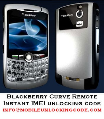 Product picture Blackberry Curve IMEI Unlock Code Remote Subsidy Code
